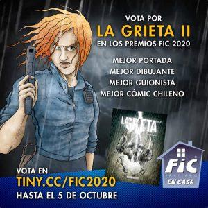 Vota por La Grieta Vol.II en los Premios FIC 2020